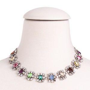 New 🔥Dannijo Paloma glass-embellished necklace